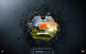 Current logon screen by kingmoeha