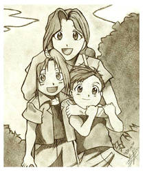 + The Elric Family + by sunfairyx