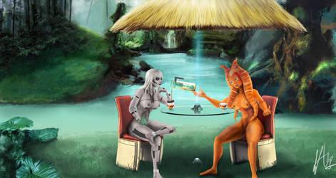 Jungle Tea Time by Travolore