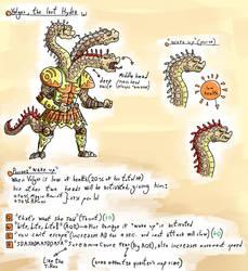 Volgor, the last Hydra by greendragongryphon