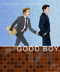 Suits: Good boy by ravefirell