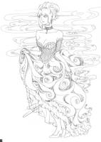 Madame Mist Coloring Page by ravefirell