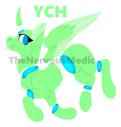 Candy gore YCH lineless by TheNervousMedic