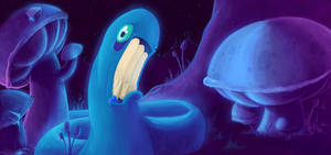 Glowworm by SzGfx