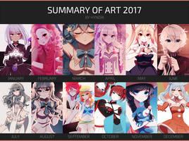 2017 Summary of Art by hynorin