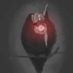 Eldritch Owl by ThornandPetal