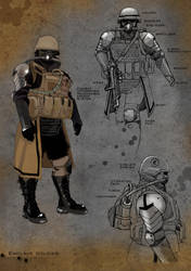 Fallout: Enclave soldier by dywa