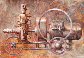 F1 machine by milalu1
