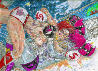 Sakura Kasugano vs.  Jinx!  (Moonlight Song) by Narked