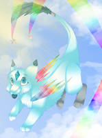 Rainbow maker by miflore