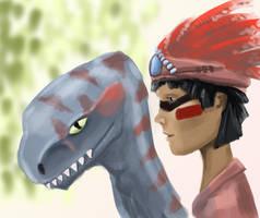 Dinorider by Amarbiter