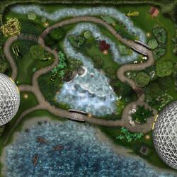 Serenity-court Day battlemap by Amarbiter