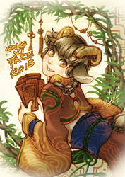 Angpao hunter by Wolvtrune