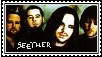 Seether Stamp by AllIFearMeansNothing