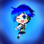 Chibi Aiko by Sapphirethedragon2
