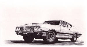 1970 Oldsmobile Cutlass 442 w30 by NatashaOToole