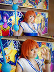 One Piece Nami Closeup Cosplay by firecloak