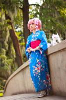 Kimono Madoka Magica Cosplay by firecloak