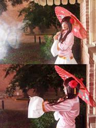 Taiwan Feels the Rain by firecloak