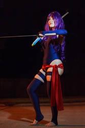 Psylocke by firecloak