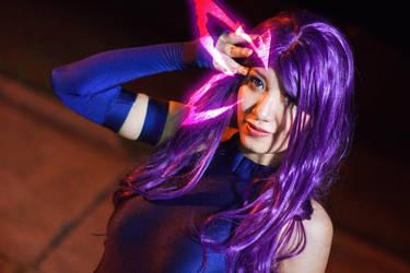 Psylocke's Psychic Butterfly by firecloak