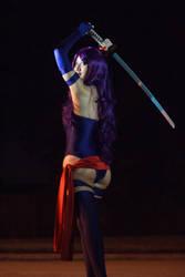 Psylocke from behind by firecloak