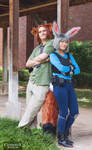 Judy Hopps and Nick Wilde [Zootopia Cosplay] by firecloak
