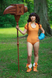 Diane and Gideon Seven Deadly Sins Cosplay by firecloak