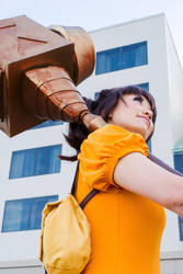 The Giant Diane - Seven Deadly Sins Cosplay by firecloak