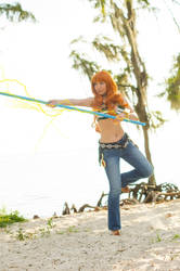 Nami's Thunder by firecloak