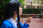 Mitsuki Nase, Sucker - Beyond the Boundary Cosplay by firecloak