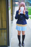 Shouko Full Body, A Silent Voice Cosplay by firecloak