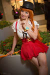 Nami Whole Cake Island Maid Cosplay One Piece by firecloak