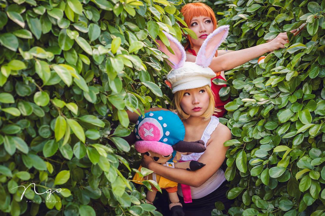 Nami, Carrot, Chopper One Piece WCI Cosplay by firecloak