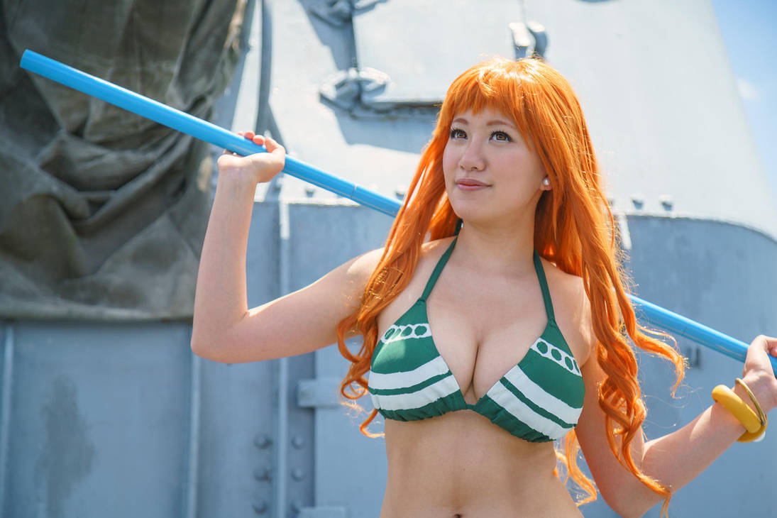 Nami New World Time Skip Cosplay: Looking Ahead by firecloak