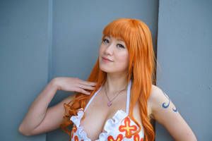 Just Being Nami, Dressrosa One Piece Cosplay by firecloak
