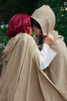 Yona Kisses Hak 3 Cosplay by firecloak