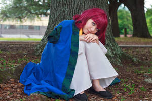 Yona in Hak's Coat [Akatsuki no Yona Cosplay] by firecloak