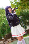 Tomoyo with Camcorder - Cardcaptor Sakura Cosplay by firecloak