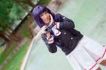 Tomoyo and Camcorder Cardcaptor Sakura Cosplay by firecloak