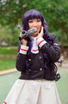 Excited Tomoyo Daidoji - Cardcaptor Sakura Cosplay by firecloak