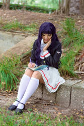 Tomoyo Fangirls Over Costumes for Sakura by firecloak