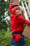 Red Blood Cell is Ready [Cells at Work Cosplay] by firecloak