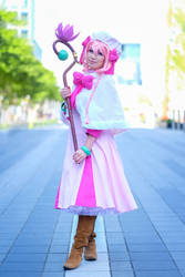 Lily - Recovery of an MMO Junkie Cosplay by firecloak
