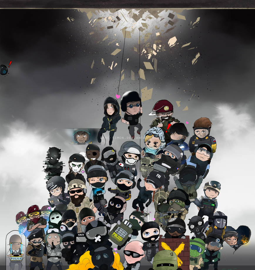 Team Rainbow! PARA BELLUM Update by dave-simon