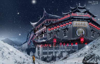 Frozen Temple by dave-simon
