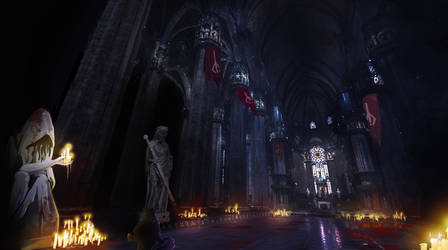 Bloodborne 2 : Fan concept art by dave-simon