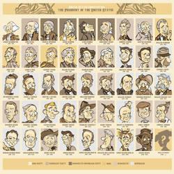 presidents of America by MRDeZign
