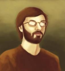 Self Portrait by gentsai