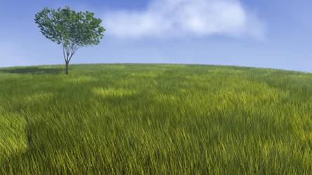 Field Background by gentsai